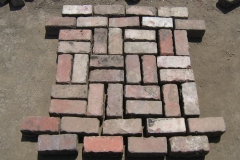 Antique Clay Pavers Basket Weave