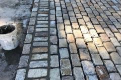 Antique Split/Half Thickness Regulations Installation in Progress