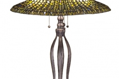 TIFFANY STYLE TABLE LAMP 29.7
