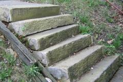 ANTIQUE SANDSTONE  STEPS