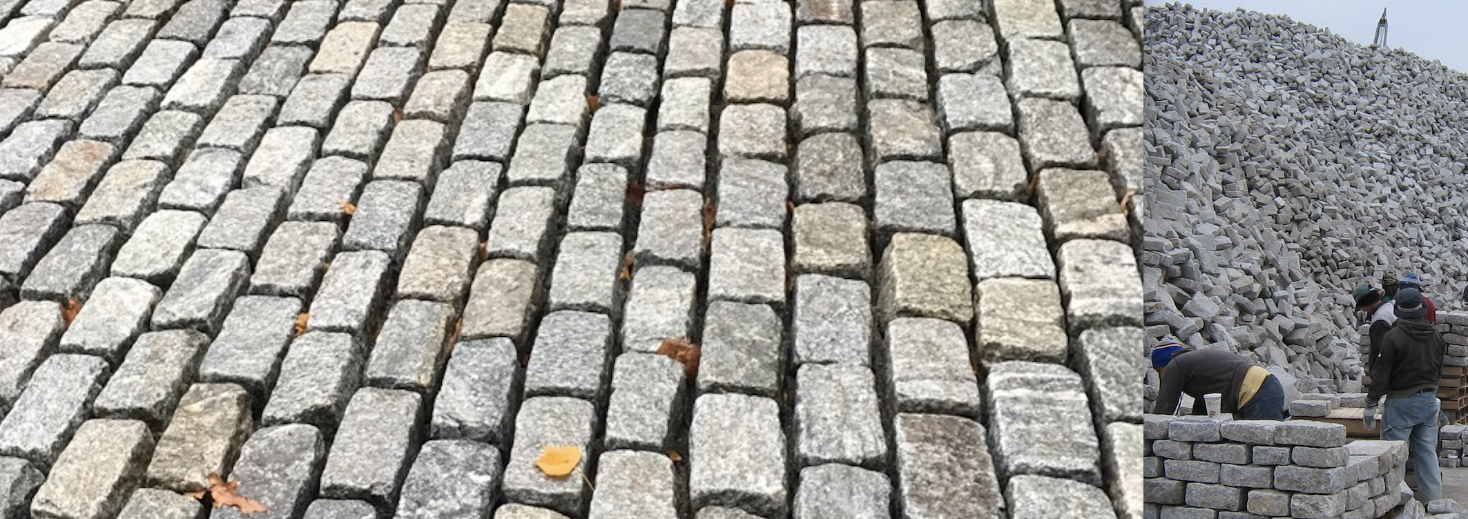 NEW Belgian Block & Granite Cobblestone