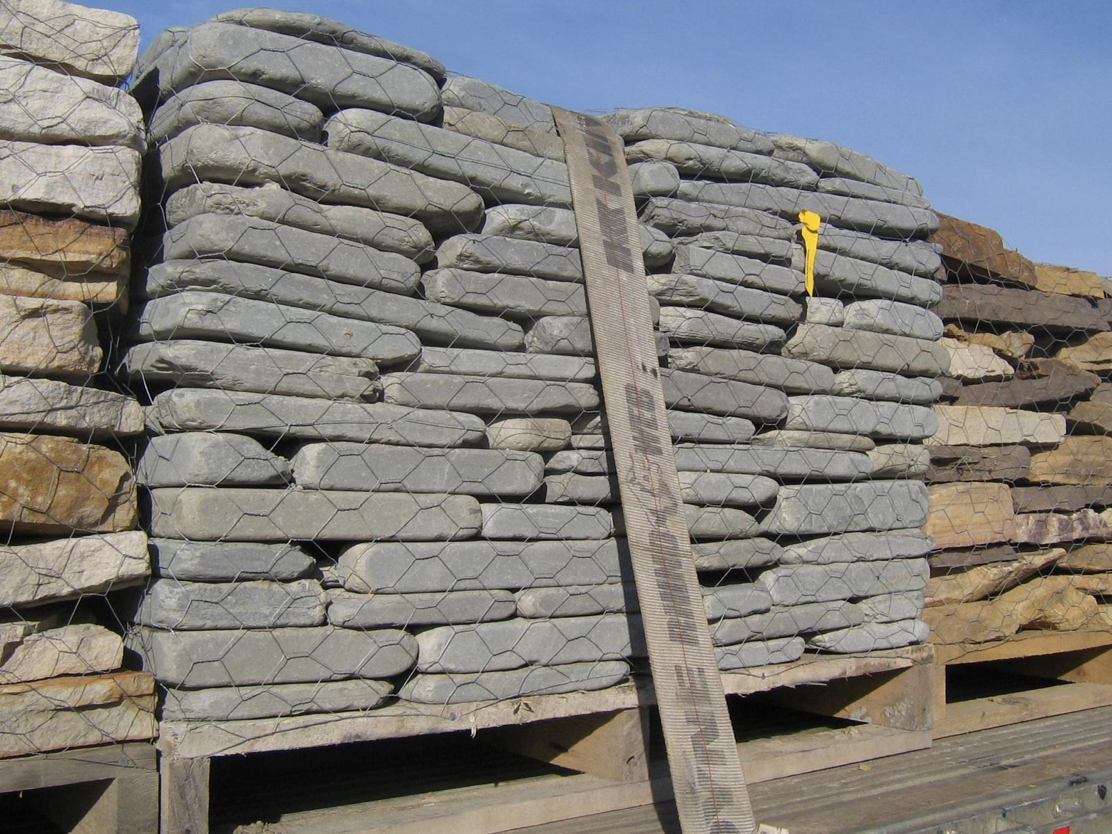 Bluestone Tumbled Wall Stone