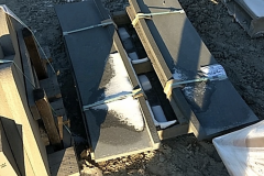 Bluestone Blue /Gray Thermal Custom Radius Steps