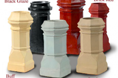 Chimney Pot Glaze Options