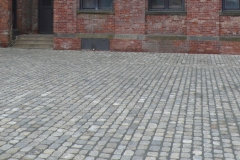 Antique Mini Cobble Installed