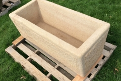 NEW SANDSTONE WATERING TROUGH