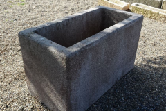 ANTIQUE GRANITE WATERING TROUGH
