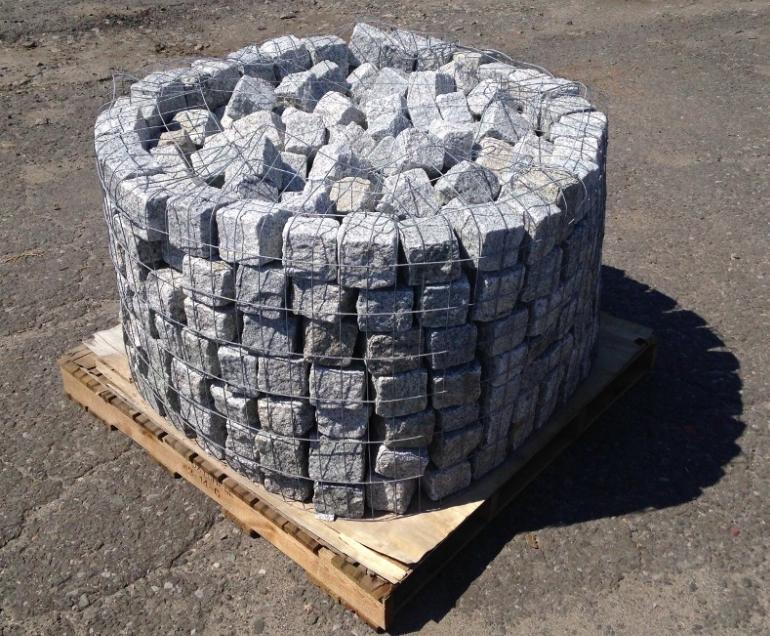 Gray Granite Cubes
