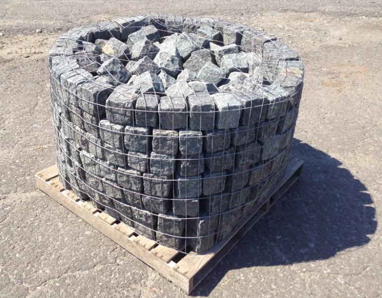Black Granite Cubes