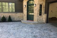 Gray Granite Half Regulations Installed