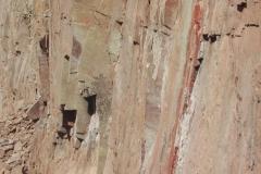 BRONZE SUMMIT Porphyry  Strata at the Quarry