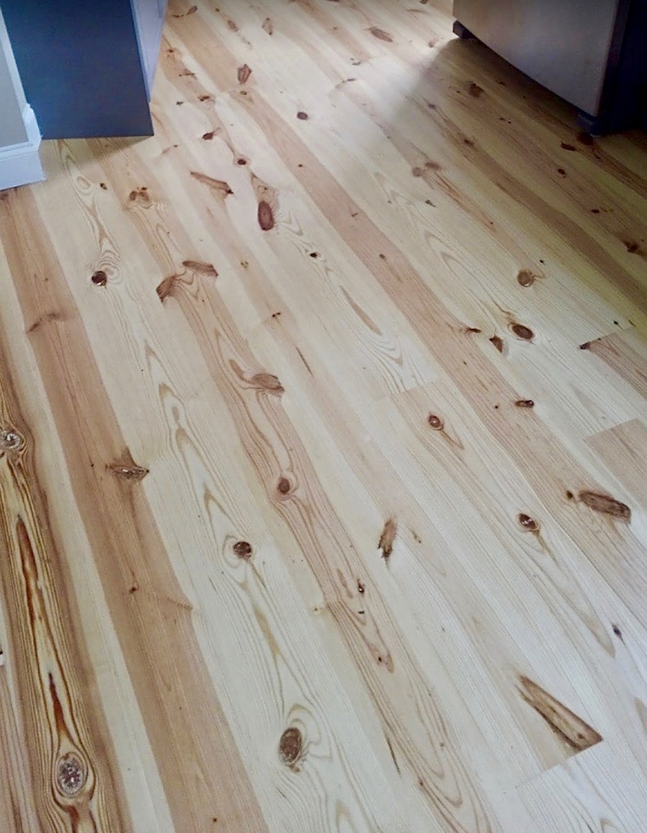Wide Plank Southern Yellow Pine Floors, Wide Plank Knotty Pine Laminate Flooring