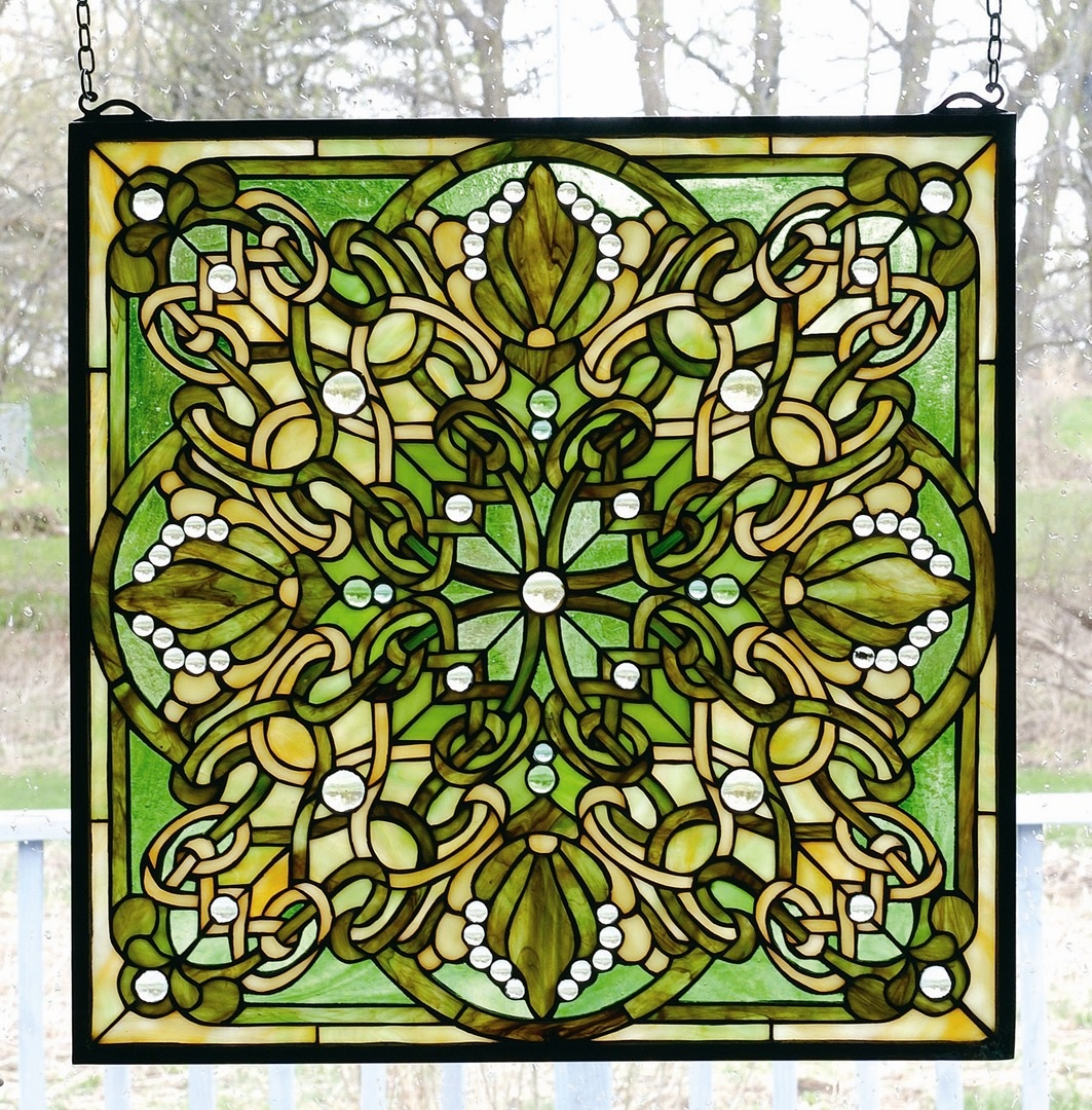 TIFFANY STYLE WINDOW 12