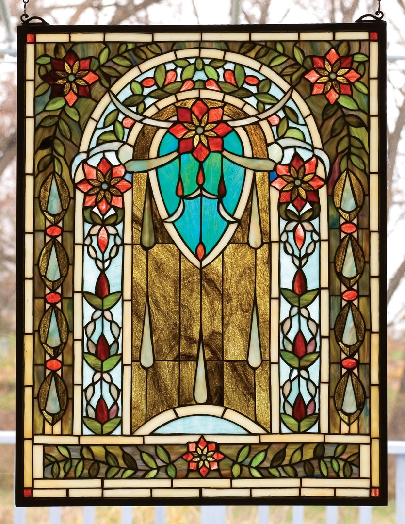 TIFFANY STYLE WINDOW  13.7