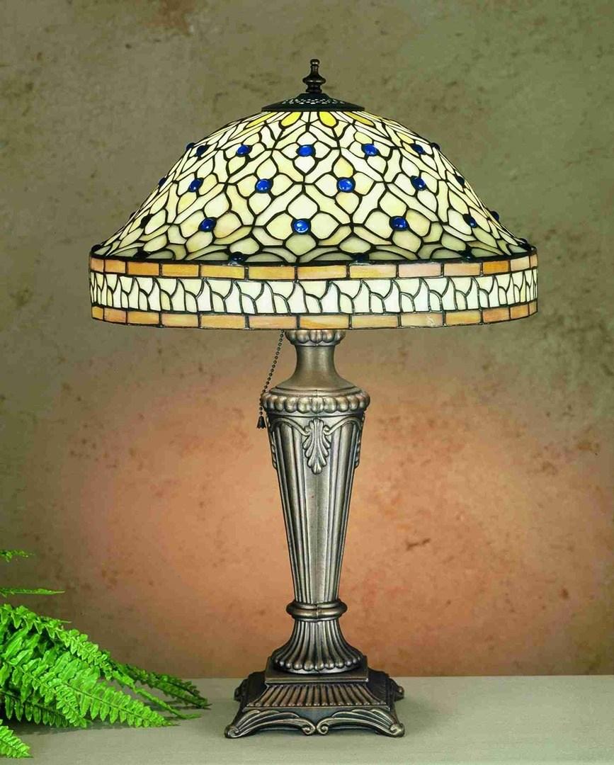 TIFFANY STYLE TABLE LAMP 1
