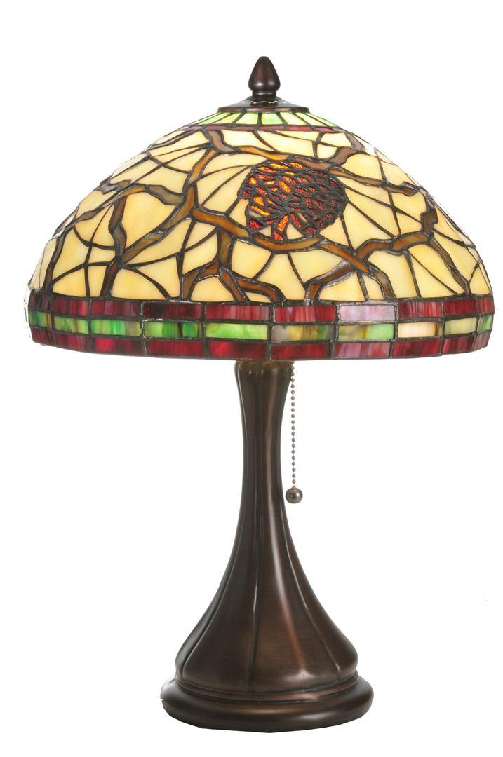 TIFFANY STYLE TABLE LAMP 12