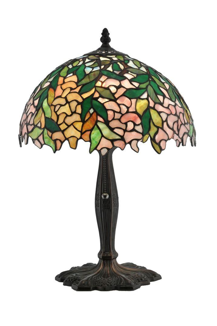 TIFFANY STYLE TABLE LAMP 13