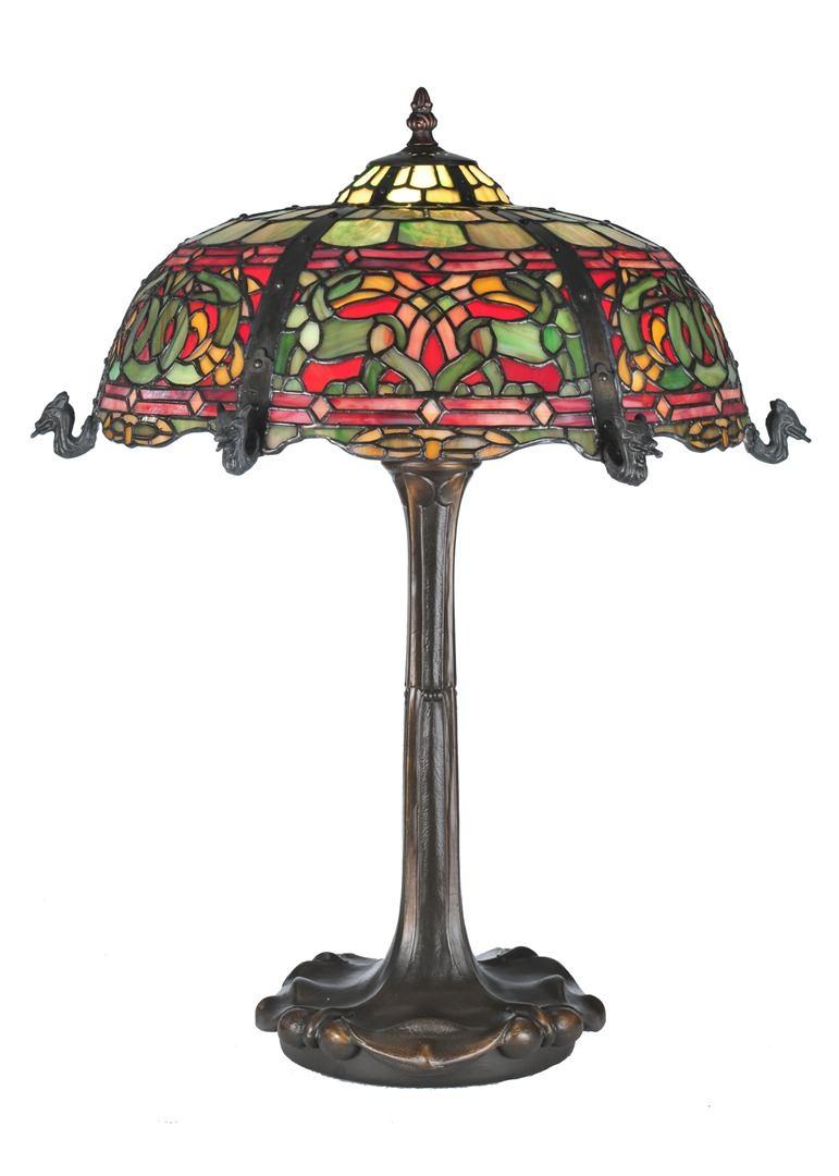 TIFFANY STYLE TABLE LAMP 16