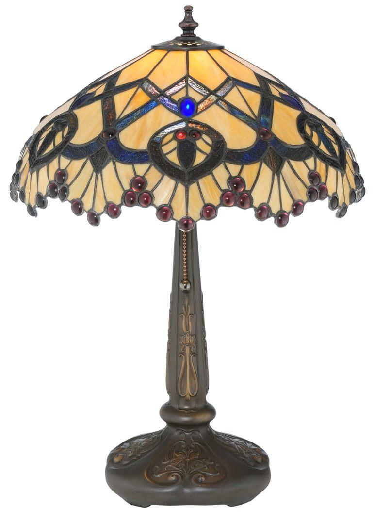 TIFFANY STYLE TABLE LAMP 17
