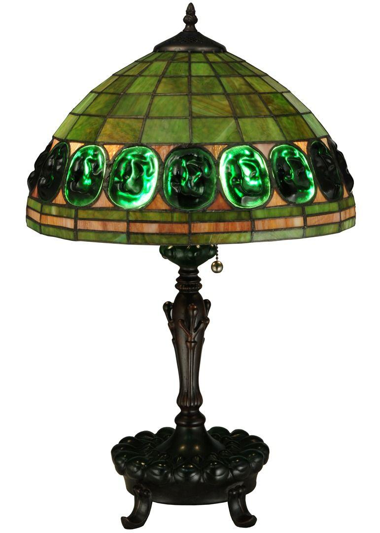 TIFFANY STYLE TABLE LAMP 19