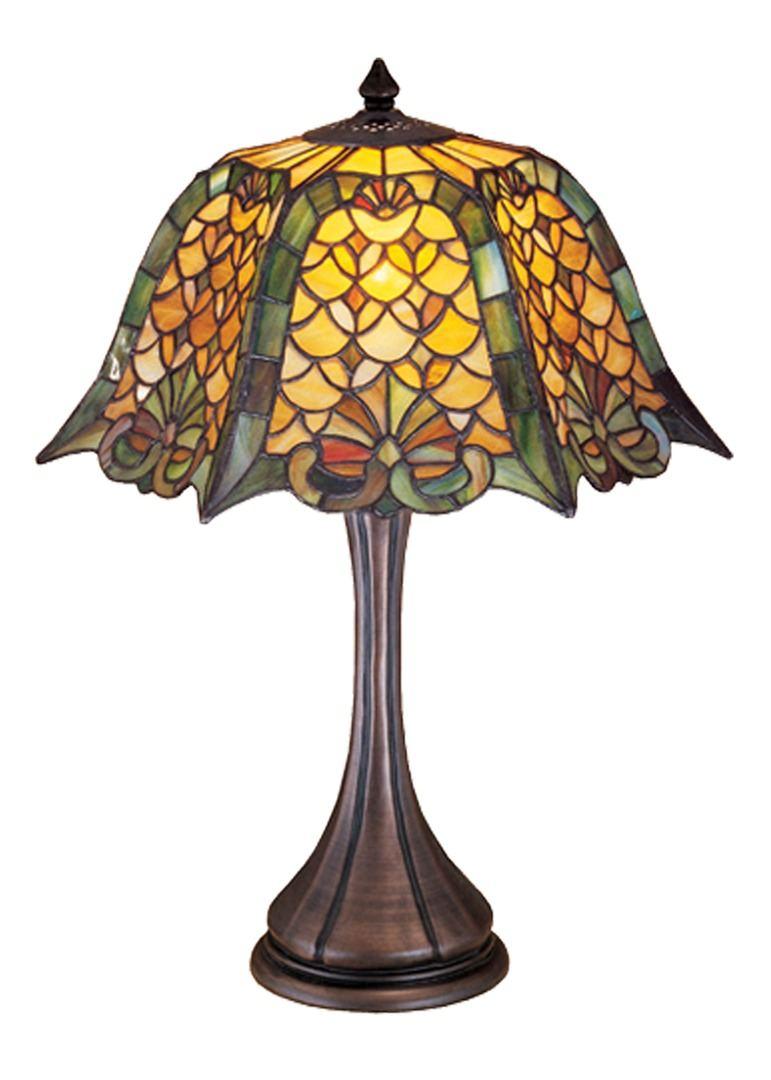 TIFFANY STYLE TABLE LAMP 2
