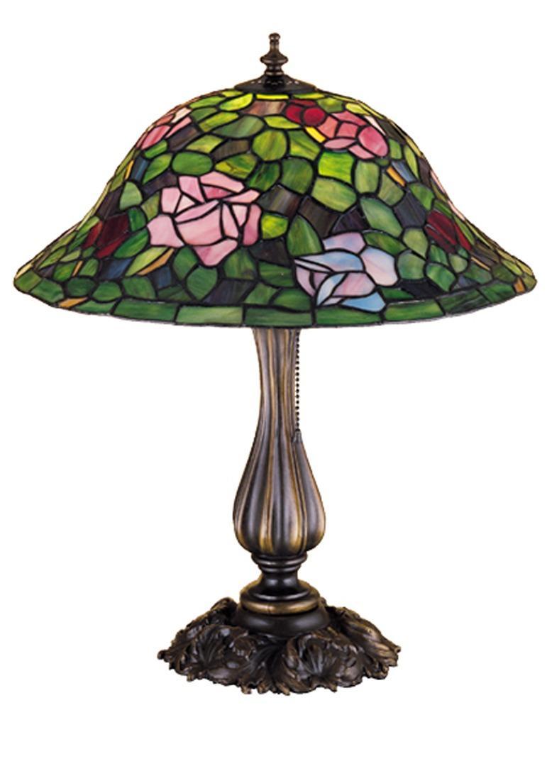 TIFFANY STYLE TABLE LAMP 20