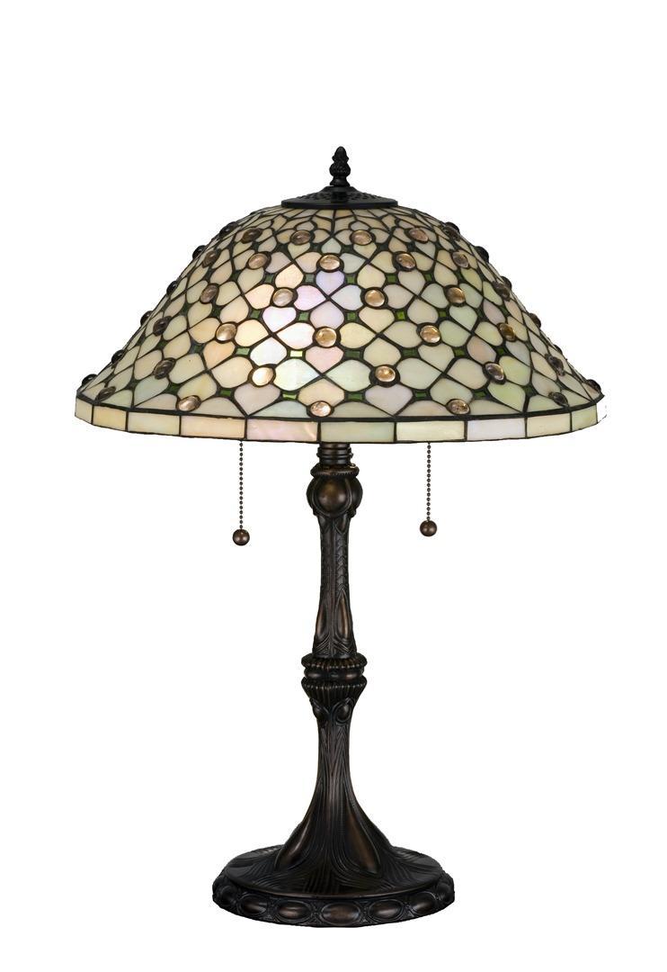 TIFFANY STYLE TABLE LAMP 21