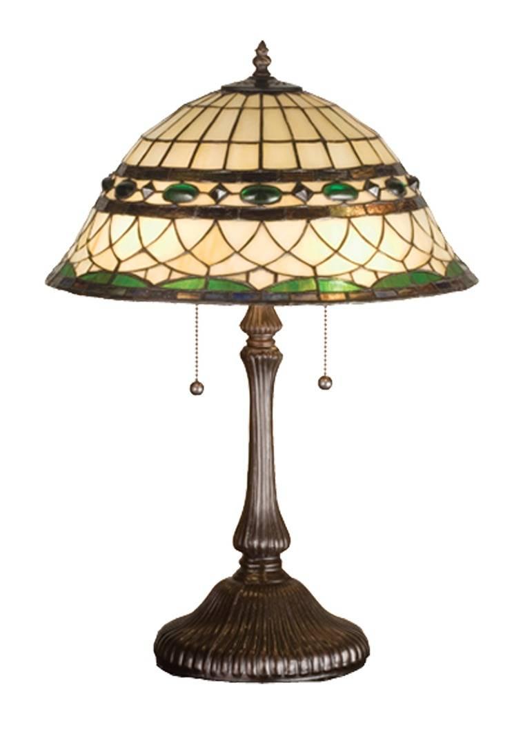 TIFFANY STYLE TABLE LAMP 22