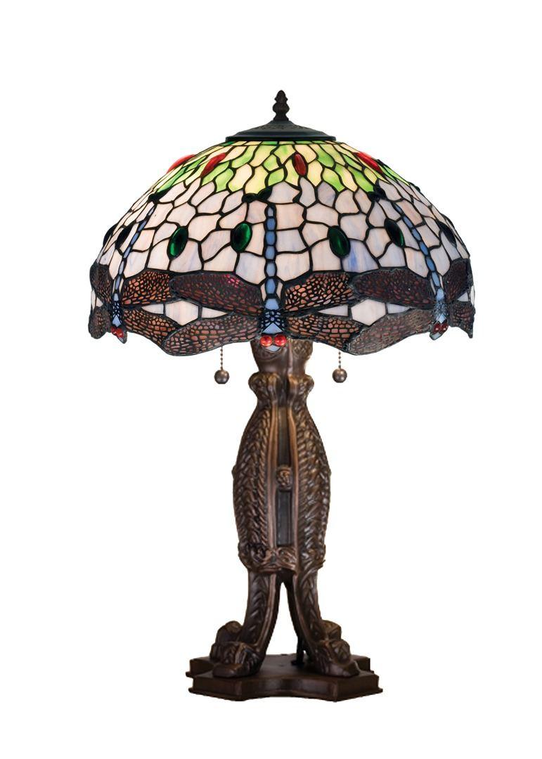 TIFFANY STYLE TABLE LAMP 23