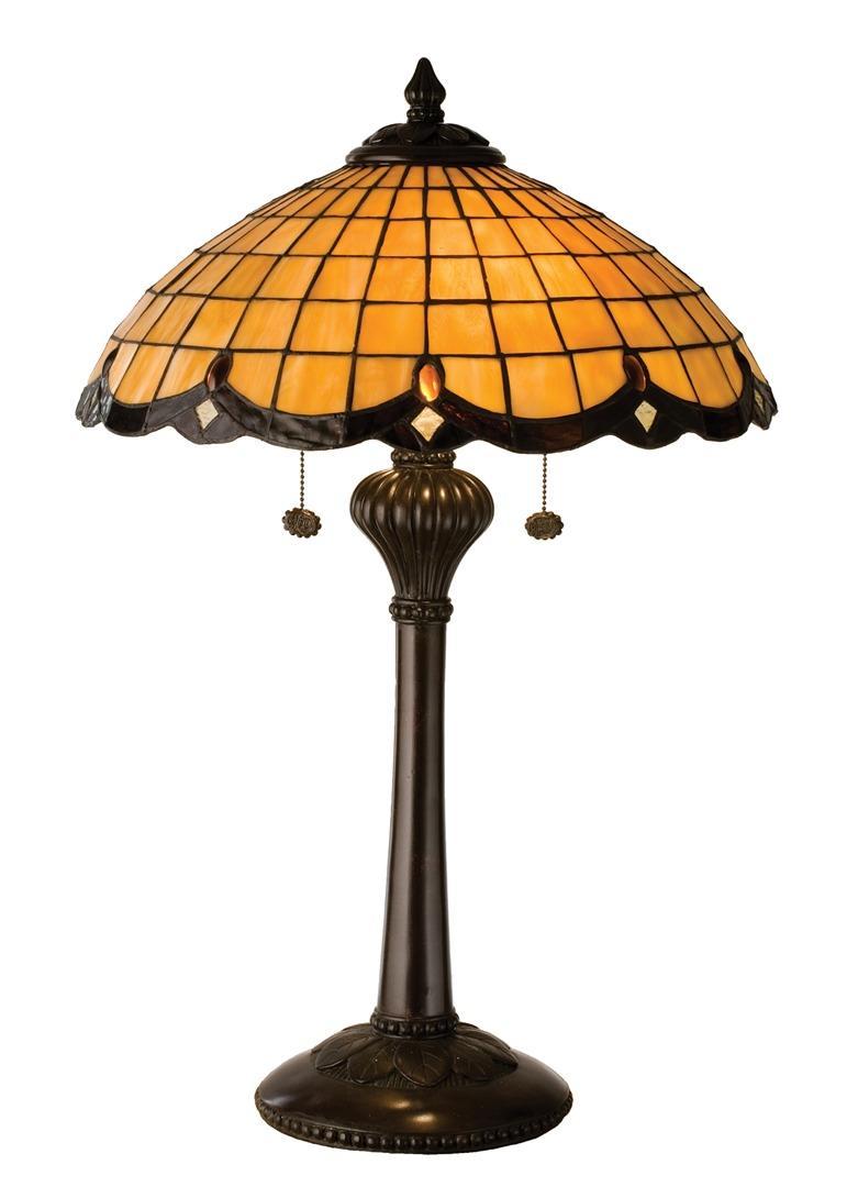 TIFFANY STYLE TABLE LAMP 24