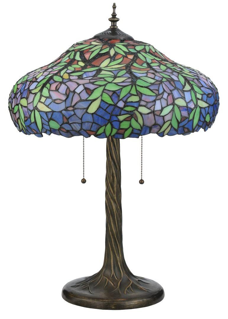 TIFFANY STYLE TABLE LAMP 25