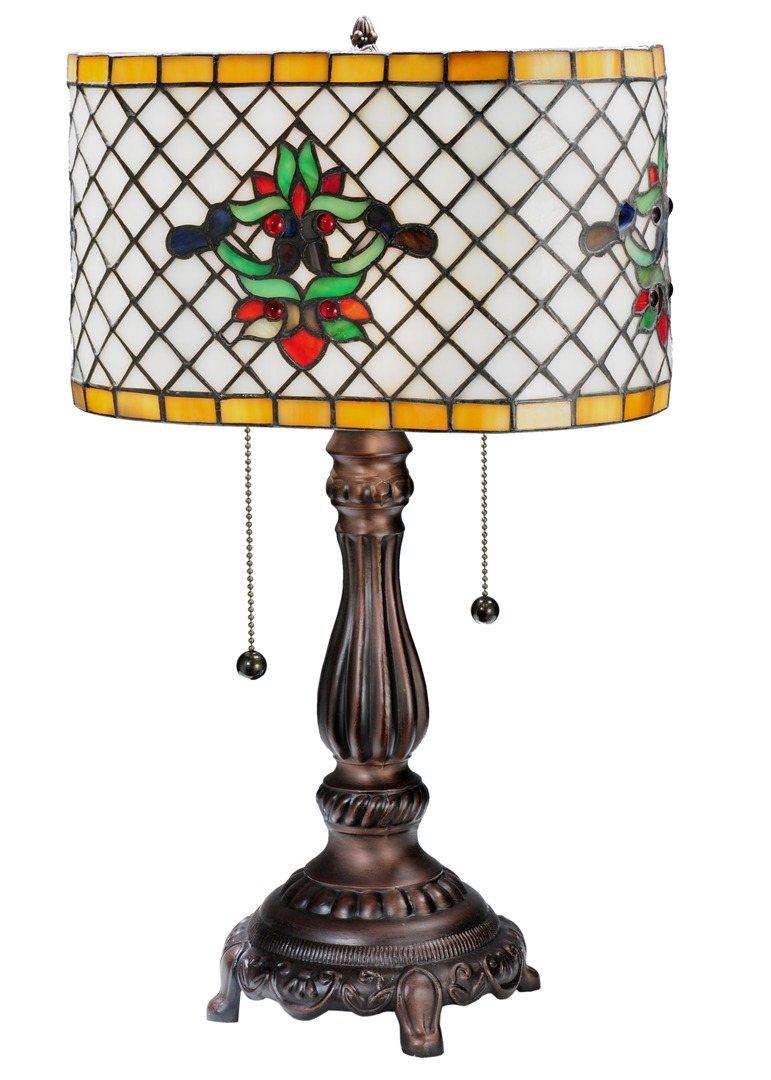 TIFFANY STYLE TABLE LAMP 26
