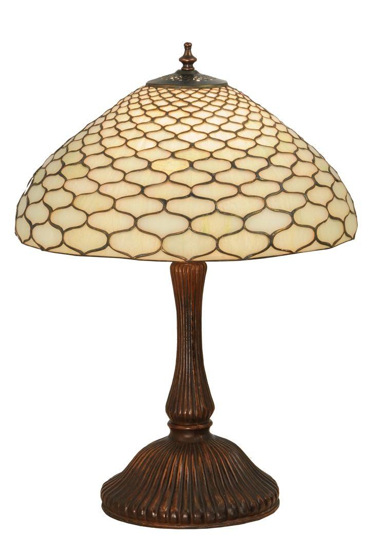 TIFFANY STYLE TABLE LAMP 27
