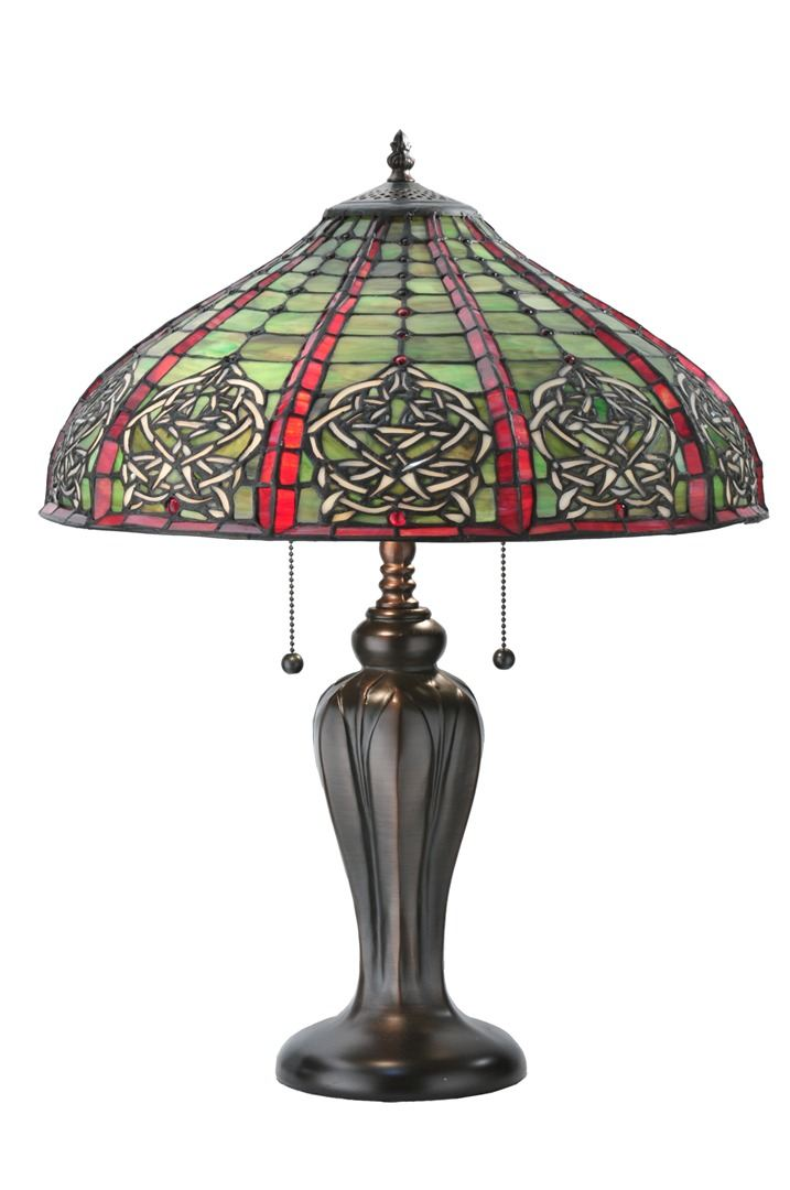 TIFFANY STYLE TABLE LAMP 28