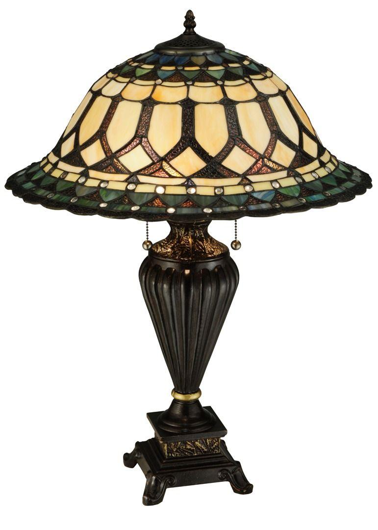 TIFFANY STYLE TABLE LAMP 29