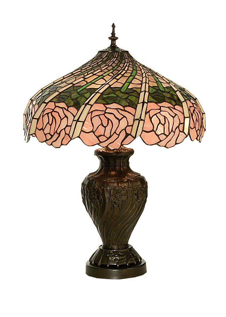 TIFFANY STYLE TABLE LAMP 3