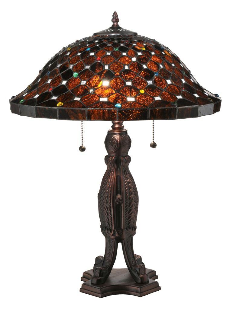 TIFFANY STYLE TABLE LAMP 33