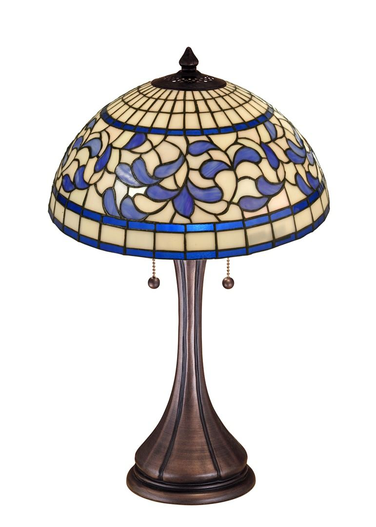 TIFFANY STYLE TABLE LAMP 34