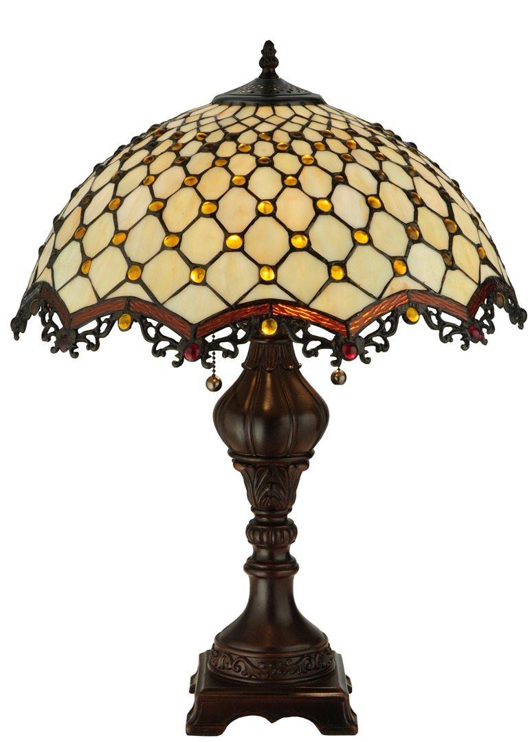 TIFFANY STYLE TABLE LAMP 35