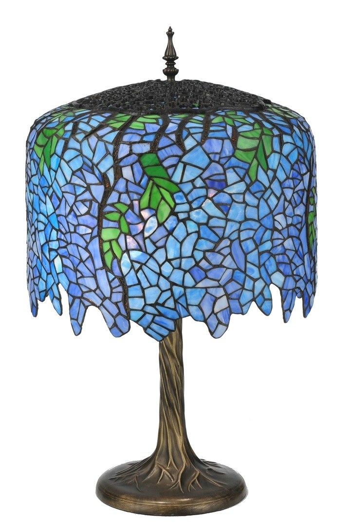 TIFFANY STYLE TABLE LAMP 36