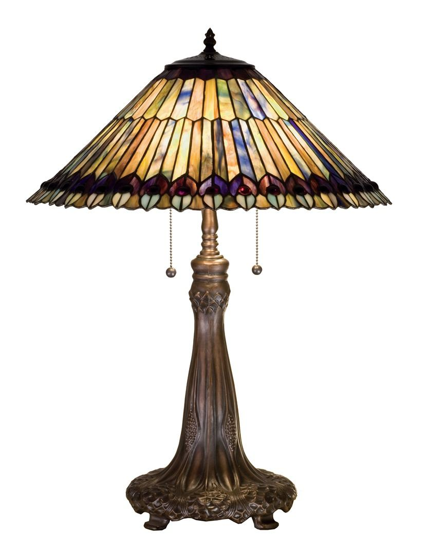 TIFFANY STYLE TABLE LAMP 38