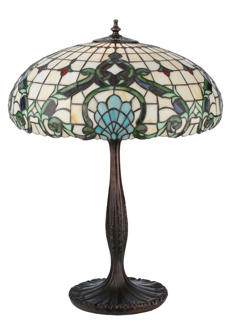 TIFFANY STYLE TABLE LAMP 39
