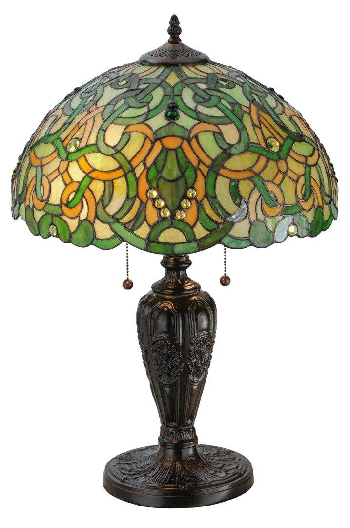 TIFFANY STYLE TABLE LAMP 4