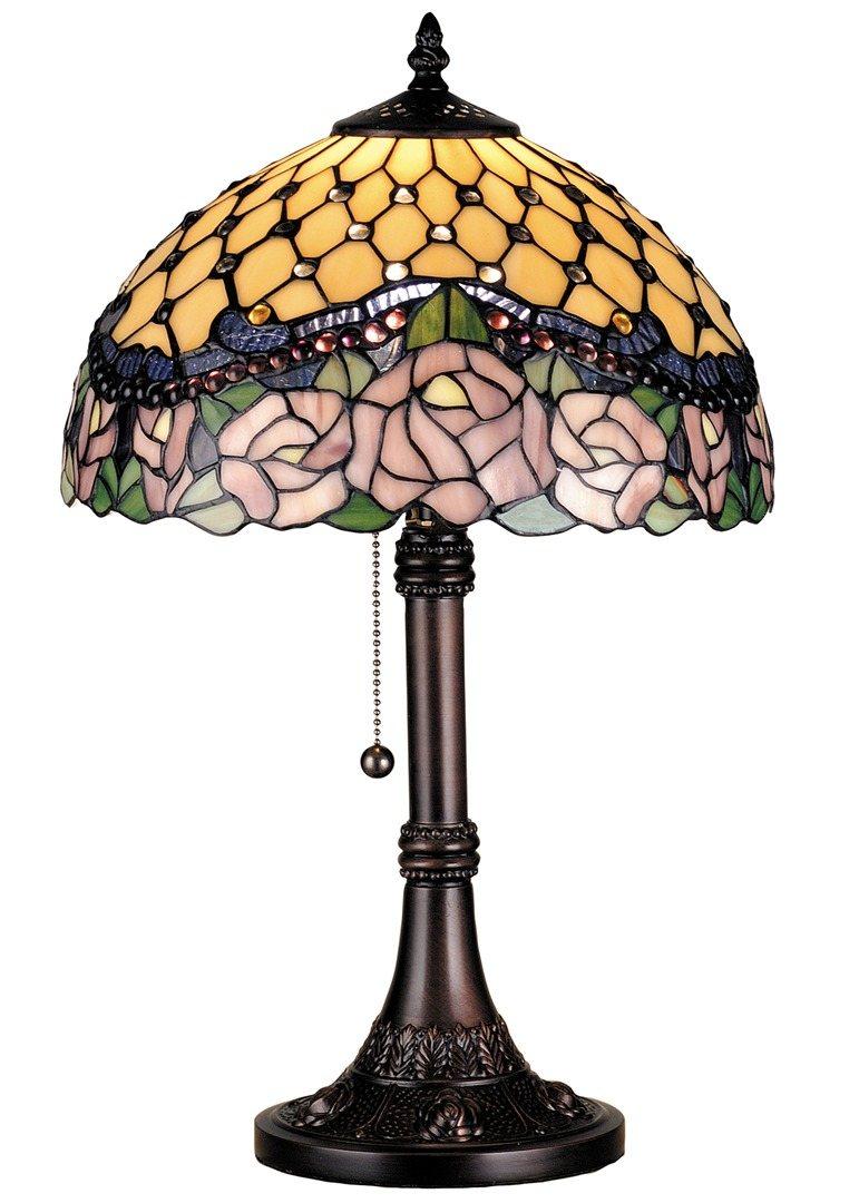 TIFFANY STYLE TABLE LAMP 41