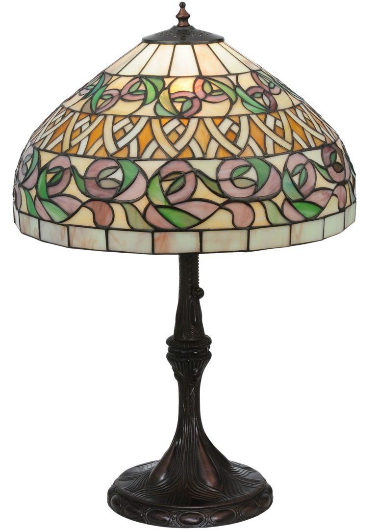 TIFFANY STYLE TABLE LAMP 42