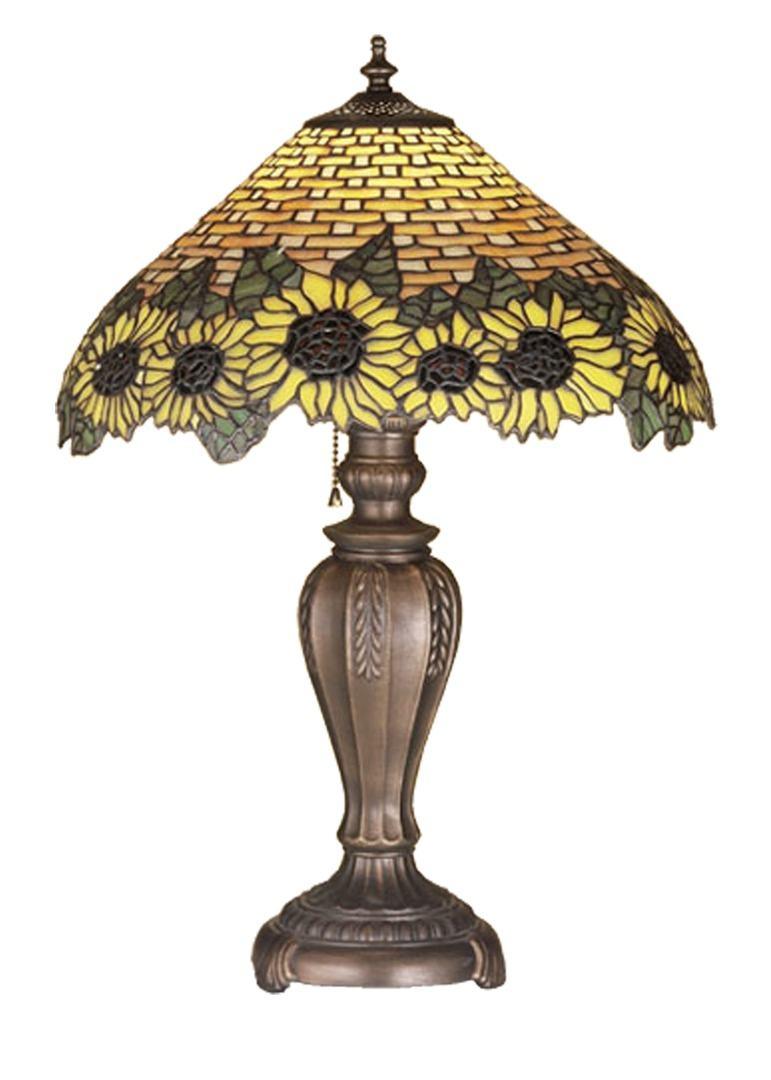 TIFFANY STYLE TABLE LAMP 5