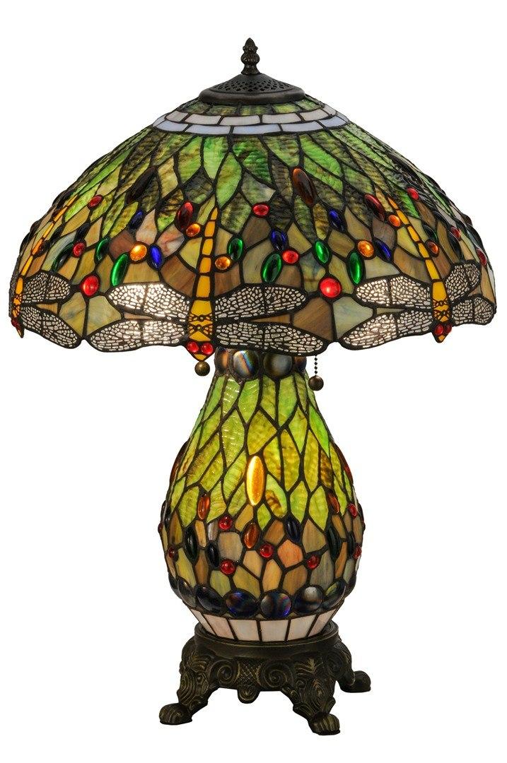 TIFFANY STYLE TABLE LAMP 6