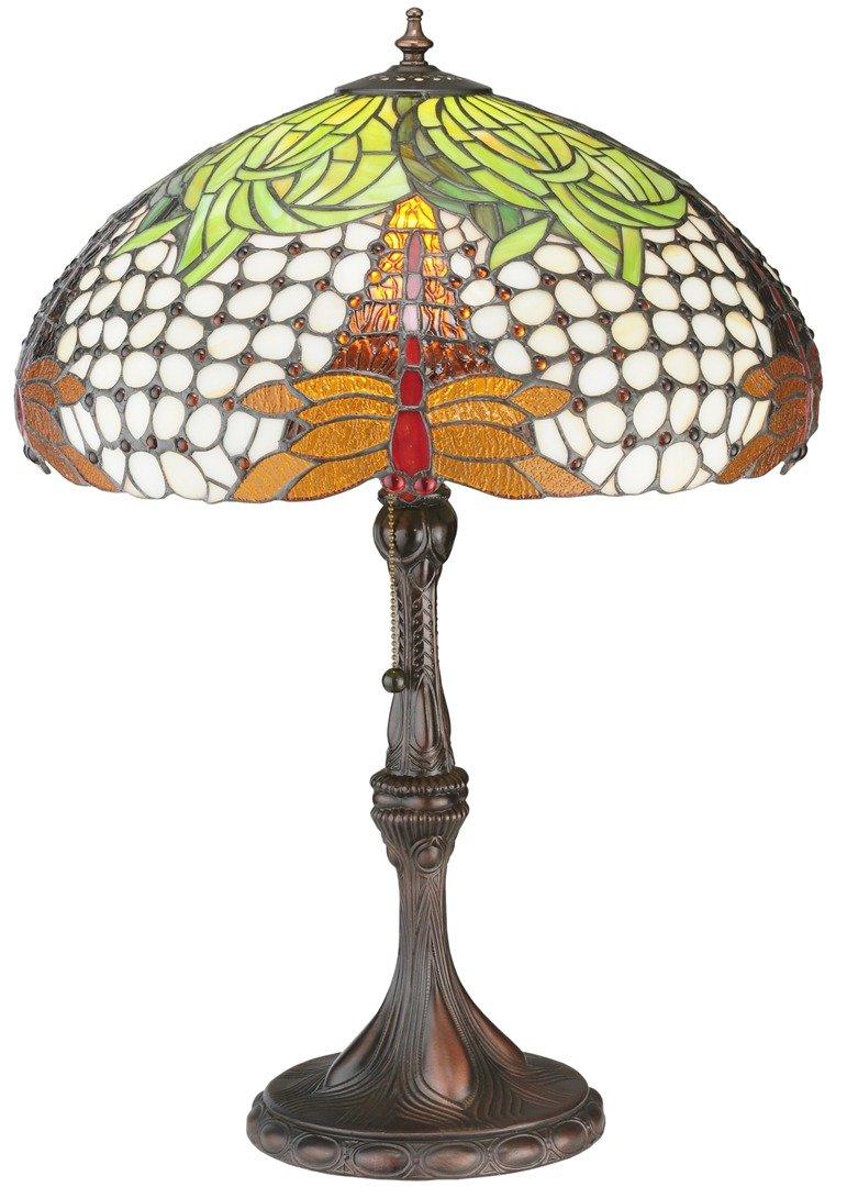 TIFFANY STYLE TABLE LAMP 7