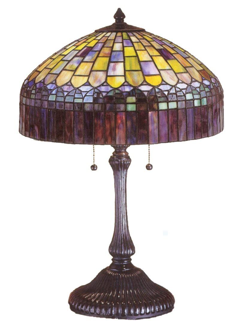 TIFFANY STYLE TABLE LAMP 8