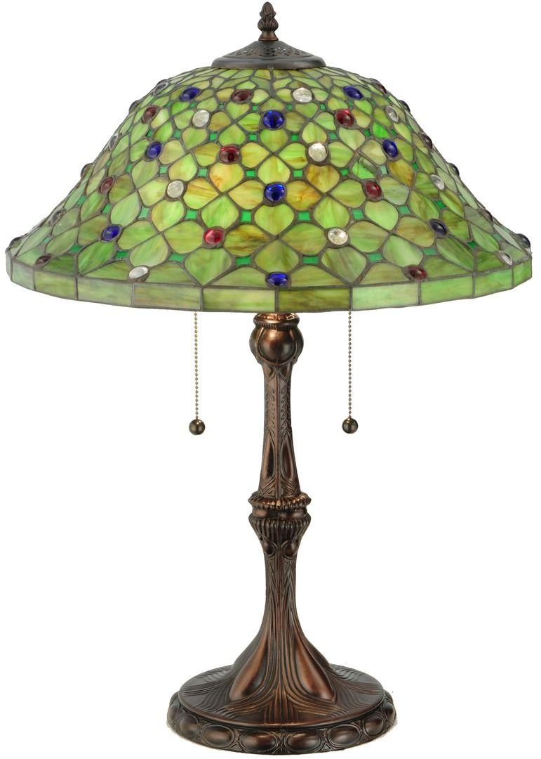TIFFANY STYLE TABLE LAMP 9